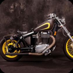 Bar end spiegel motor
